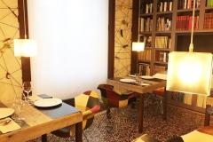 Un particolare de la sala interna de L'Architettura del Cibo