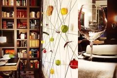 Un particolare di design de L'Architettura del Cibo