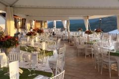 """La terrazza panoramica del ristorante \""""La Terrazza sulla Storia\"""""""