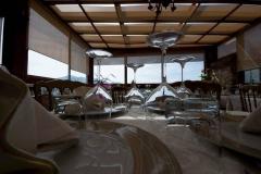 """La sala interna del ristorante \""""La Terrazza sulla Storia\"""""""