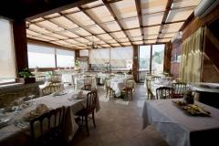 """Un particolare della sala del ristorante \""""La Terrazza sulla Storia\"""""""