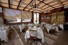"""Un angolo della sala del ristorante \""""La Terrazza sulla Storia\"""""""