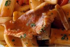 """Primo piatto del ristorante """"La Terrazza sulla Storia"""""""