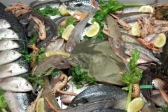 """Secondo piatto di pesce del ristorante """"La Terrazza sulla Storia"""""""