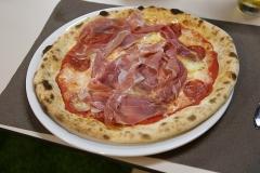 Una delle pizze speciali del San Mattia di Verona