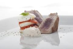 Il tonno alla griglia del ristorante Santa Teresa a Genova