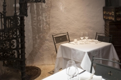 La sala del ristorante Santa Teresa a Genova