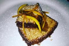 Plumcake con arance caramellate