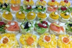 Le tartine della pasticceria Carletti di Terni