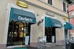 Esterno della pasticceria Carletti di Terni