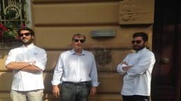 proprietari ristorante Timo di Genova