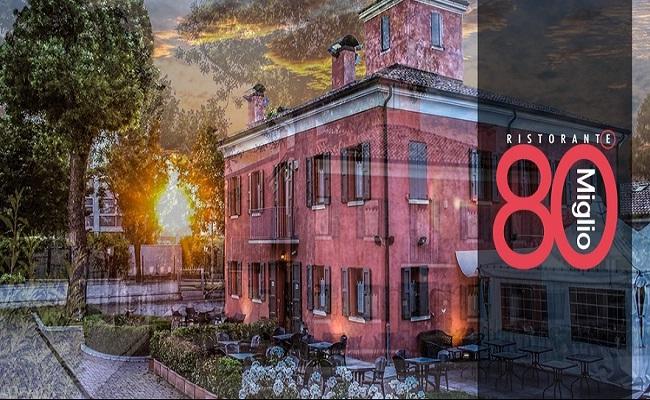 80° Miglio della via Emilia a Modena