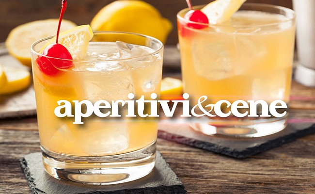 Whiskey-Sour-cocktail-aperitiviecene